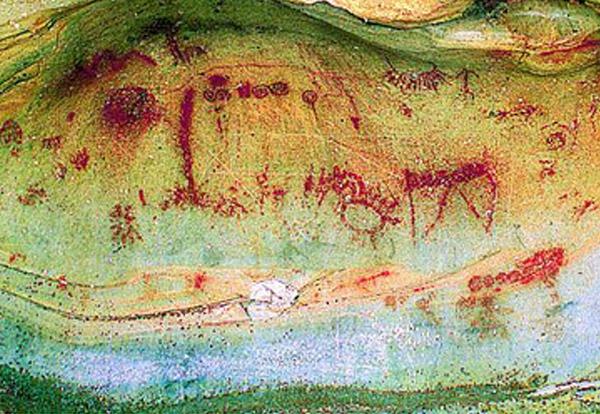 Pinturas rupestres en Soria
