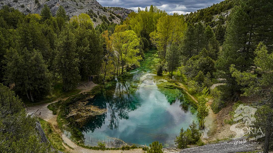 Fuentona de Muriel en Soria, uno de los monumentos naturales más apreciados de la provincia