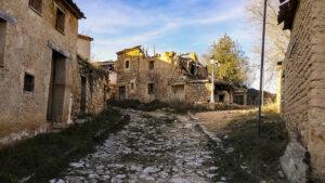 Navapalos, pueblo abandonado en la provincia de Soria