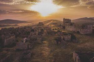 Peñalcazar pueblo abandonado en Soria