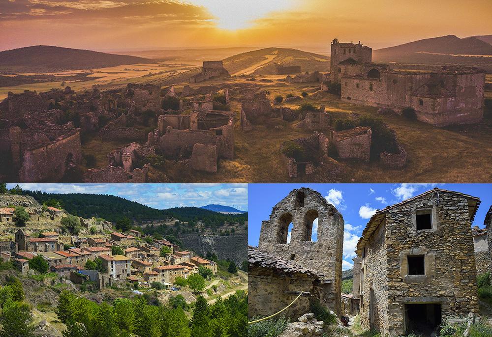 Pueblos abandonados de Soria para visitar