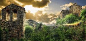 Vea, pueblo abandonado en Soria