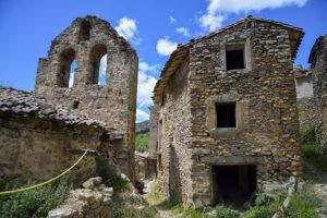 Villarijo pueblo abandonado de Soria en Tierras Altas