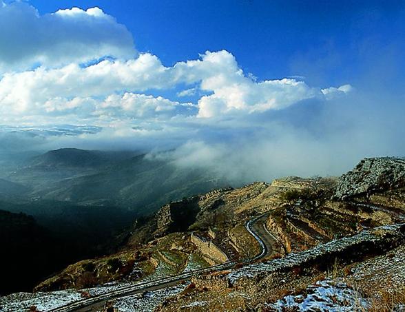 Localidad de Oncala, Sierra de Oncala