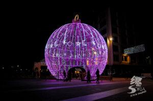 La Bola y decoración navideña en Soria