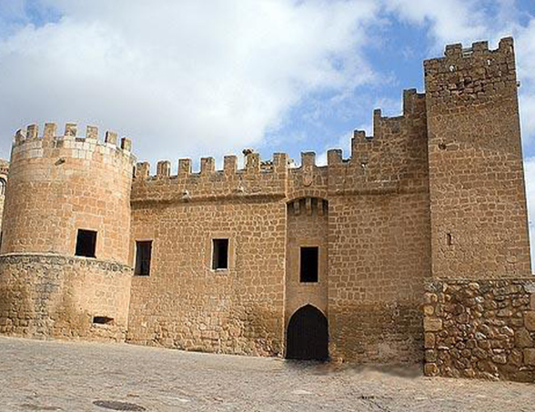 Castillo de Monteagudo de las Vicarías Fortificaciones y Monumentos