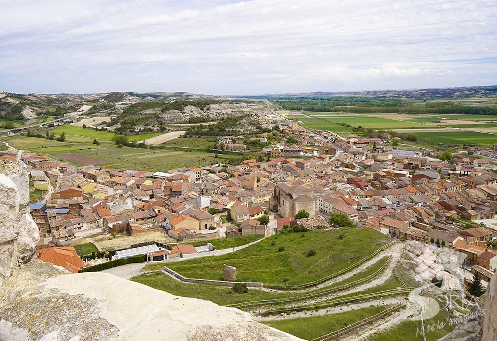 Vistas de Langa de Duero desde el Torreón del Castillo