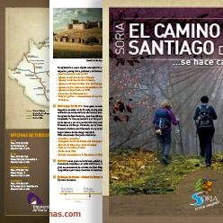 Folleto de Camino de Santiago Soria ni te la Imaginas